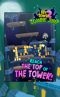 Icy Tower 2 Zombie Jump- screenshot thumbnail