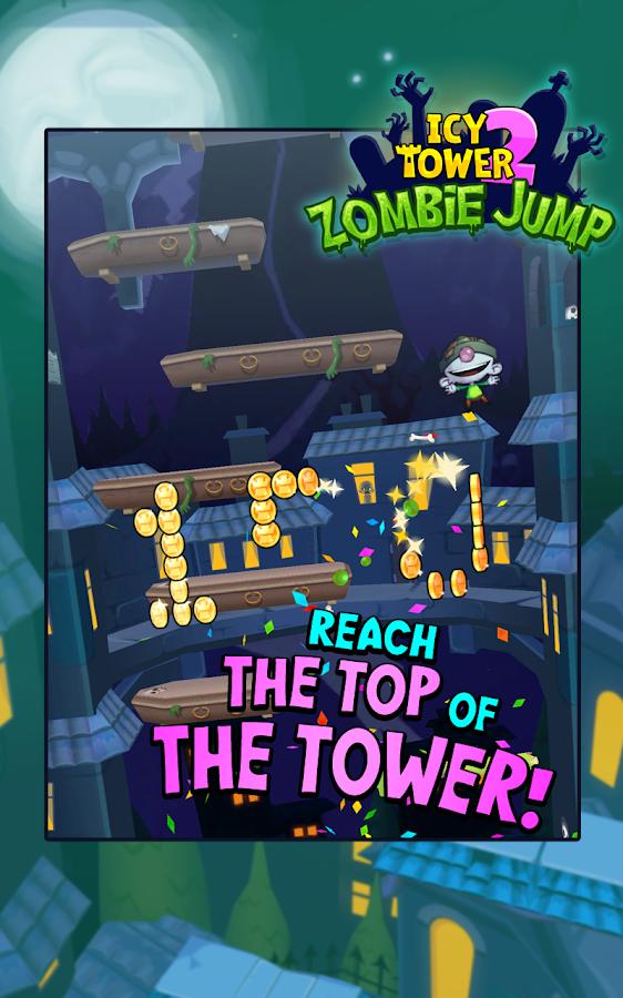 Icy Tower 2 Zombie Jump - screenshot