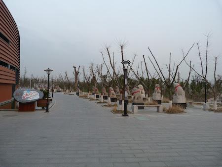 Parc statui Danyang