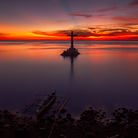 Sunken Cementery by Marlon Diwata - Landscapes Sunsets & Sunrises