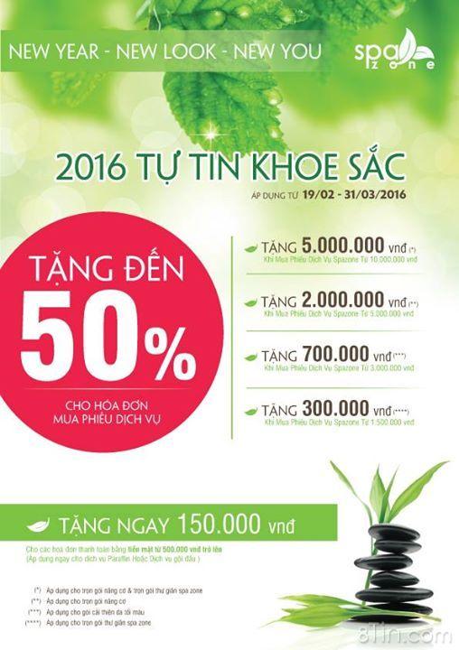 #THEFACESHOP SPAZONE: Làm đẹp tiết kiệm đến 50%