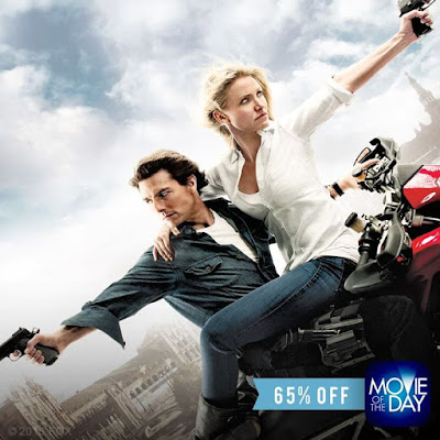 Watch out Knight and Day is 65 off today only on the MovieOfTheDayApp