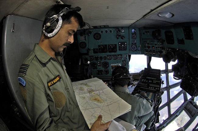 Ilyushin Il-76 transport aircraft of the Indian Air Force [IAF]