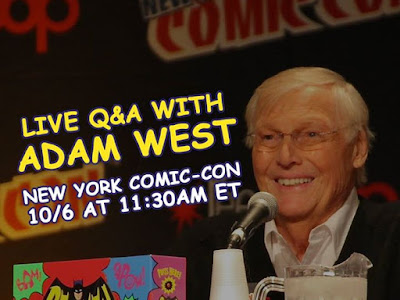 Don't miss the Live QA with Adam West and Amazon Video