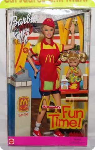 barbie mcdonalds