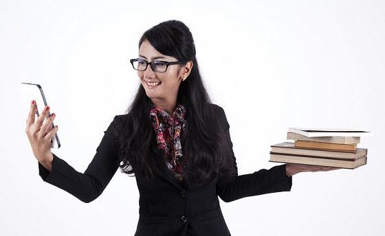 kindle-vs-books