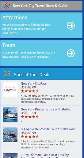 New York Travel Deals Guide