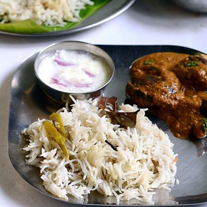 Brinji Rice Recipe - Tamil nadu Style Plain Brinji With ...