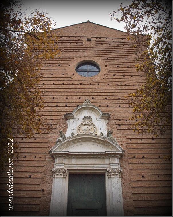 La chiesa di San Cristoforo ( facciata ), Ferrara, Emilia Romagna, Italia - The church of San Cristoforo ( front ), Ferrara, Emilia Romagna, Italy - Property and Copyrights of www.fedetails.net