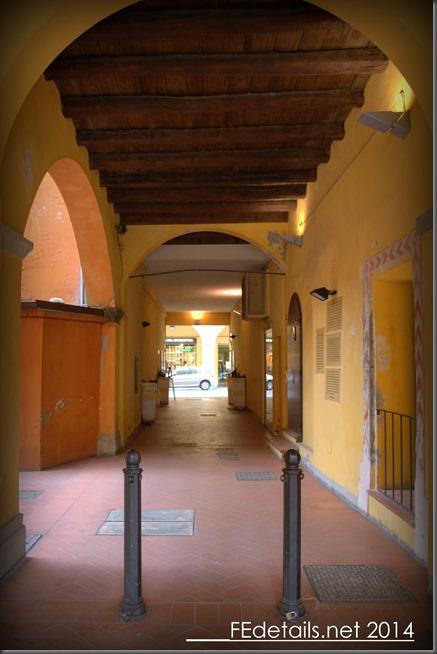 Borgo del Ghetto di Cento, Ferrara, Italy