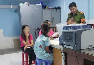 Bé K.A đến Công an tố cáo ông Nguyễn Tiến Dũng dâm ô.