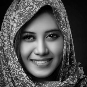 by Dhani Photomorphose - Black & White Portraits & People ( b&w, girl, woman, hot, pretty )