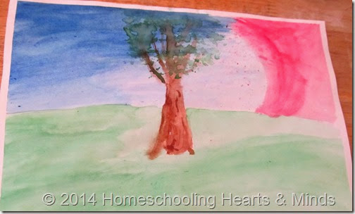 Art...Just DO It! at Homeschooling Hearts & Minds