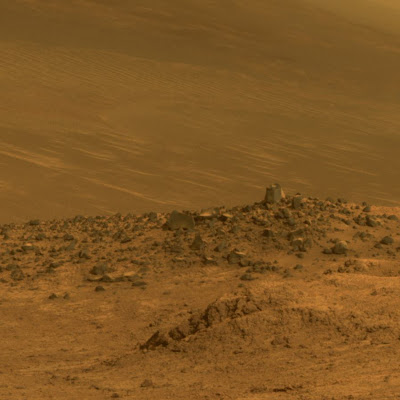 Where no rover has gone before: Opportunity will drive down an ancient Martian gully