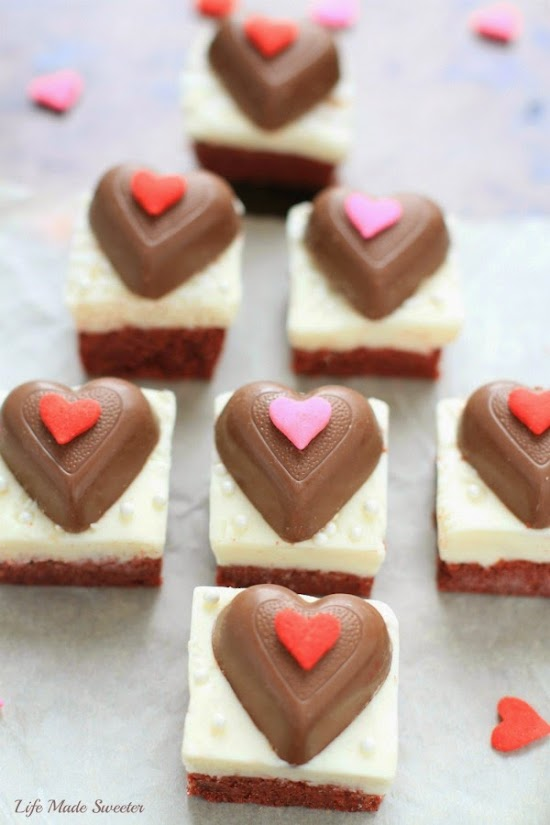 Red Velvet Sugar Cookie Bars with CreamCheese Frosting via @LifeMadeSweeter.jpg