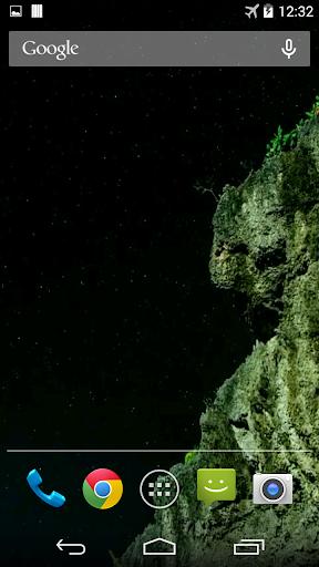 Night Sky 3D. Video Wallpaper.