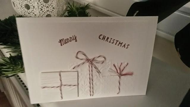 stempelfr ulein besondere weihnachtskarten die 3d geschenke karte. Black Bedroom Furniture Sets. Home Design Ideas