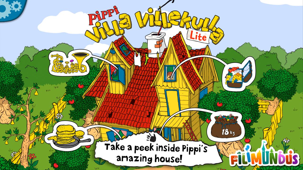 Pippi's Villa Villekulla Lite- screenshot