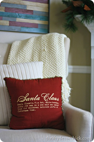 christmas pillows santa