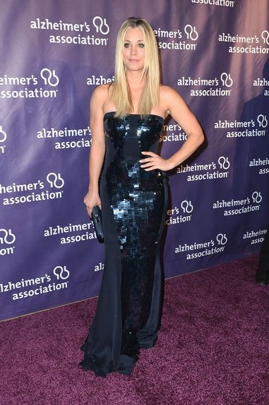 Kaley Cuoco Night Sardi Benefit Gala