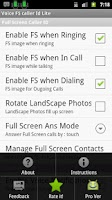 Screenshot of Voice Full Screen Caller ID Li