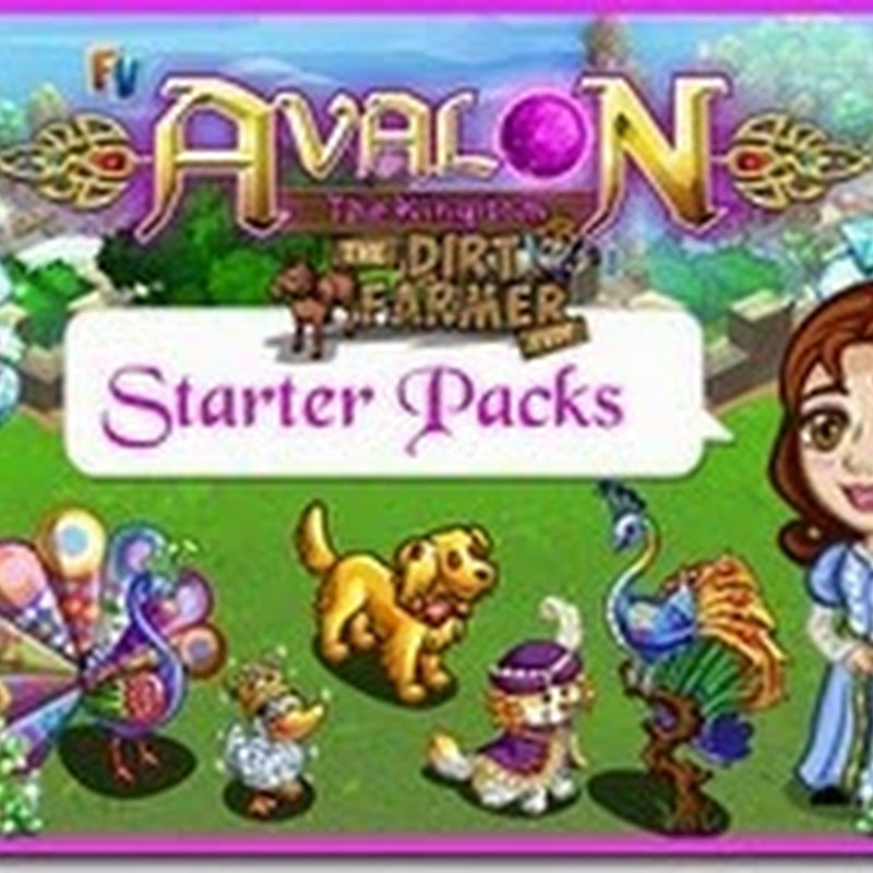 Farmville Avalon The Kingdom Starter Packs