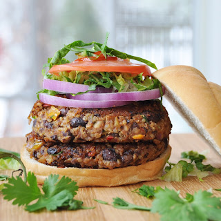 Vegan Spicy Black Bean Quinoa Burger