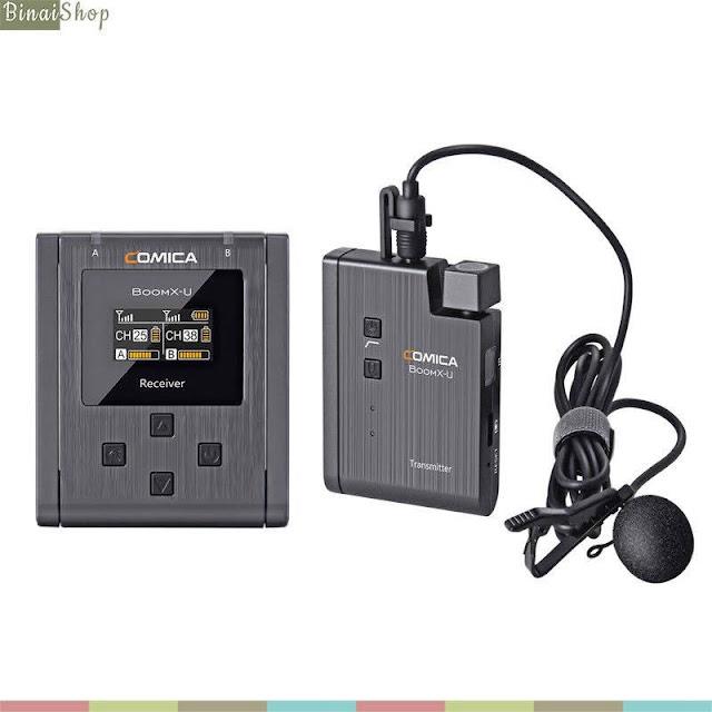 Comica BoomX-U (U1 / U2) - Bộ Micro Không Dây UHF