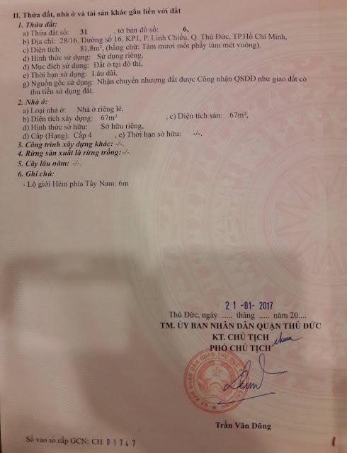 Bán nhà hẻm xe ô tô đường số 16 khu phố 1 Linh Xuân Thủ Đức 09