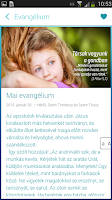 Screenshot of Evangelium365 3.0