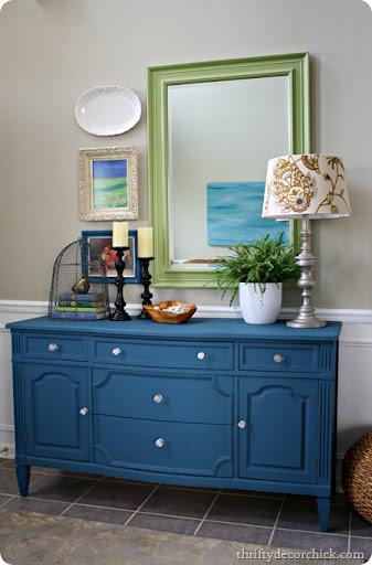 Aubusson Blue Chalk Paint Dresser