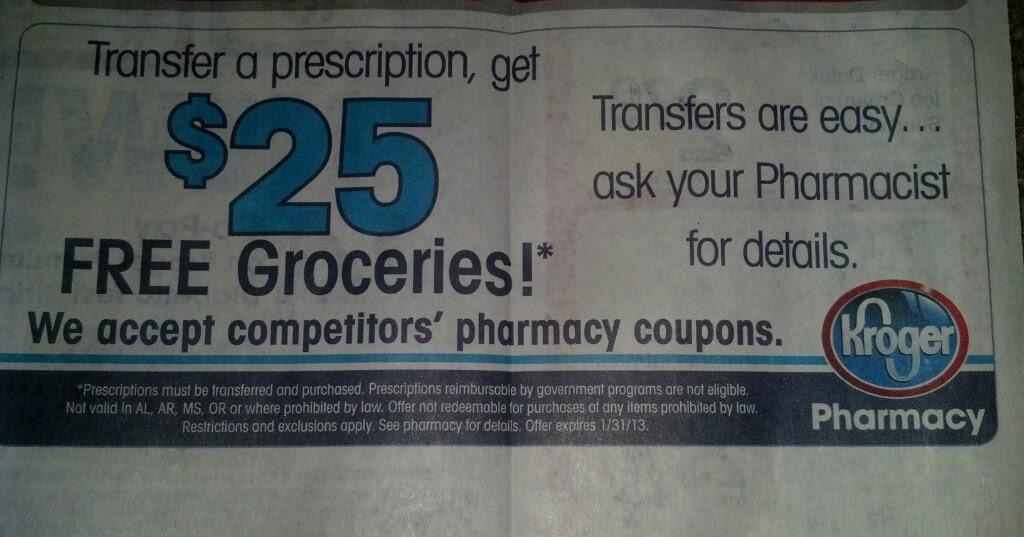 kroger pharmacy transfer coupon 2019