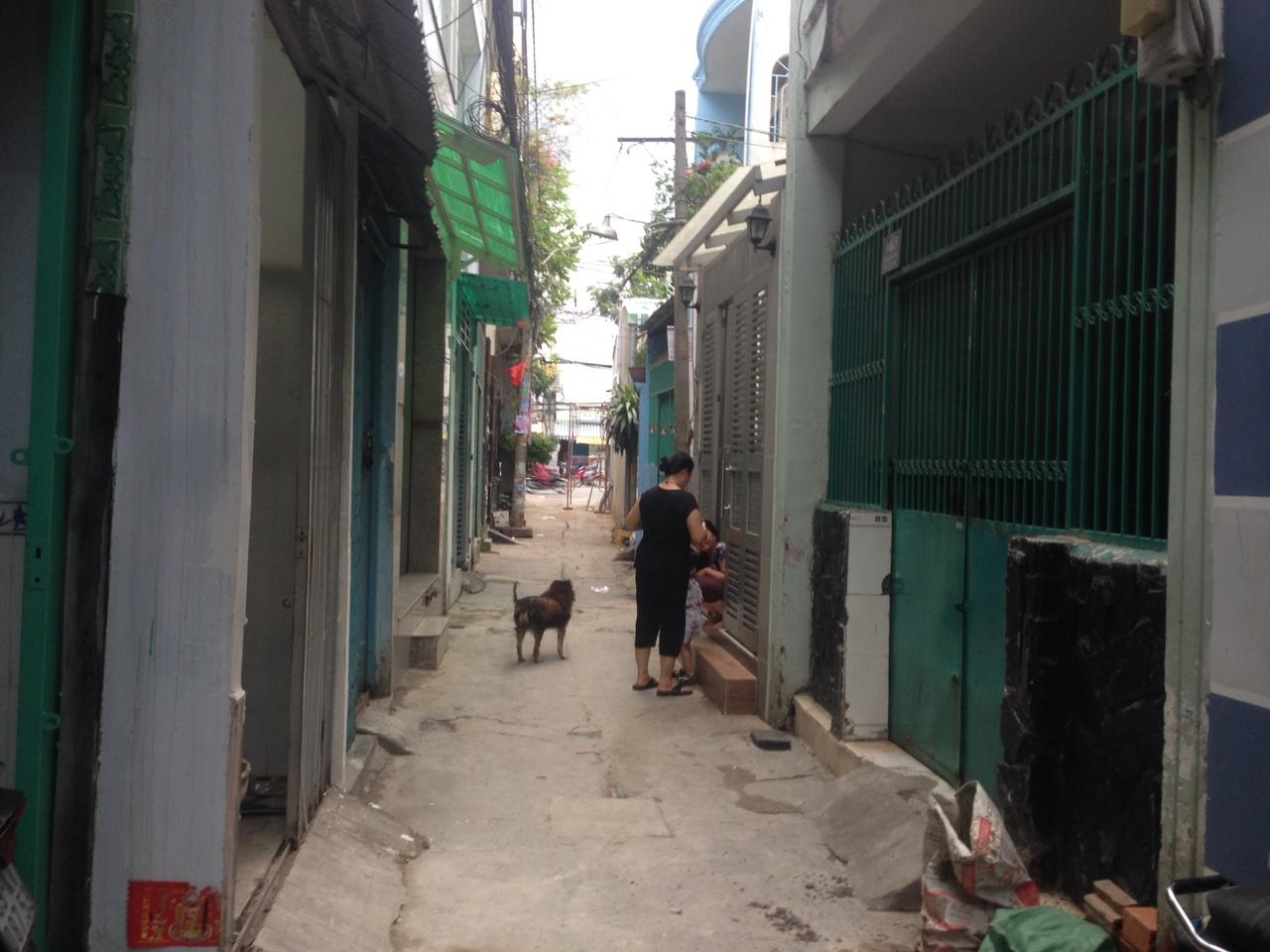 Bán nhà hẻm 146 kênh Tân Hóa Quận Tân Phú 03