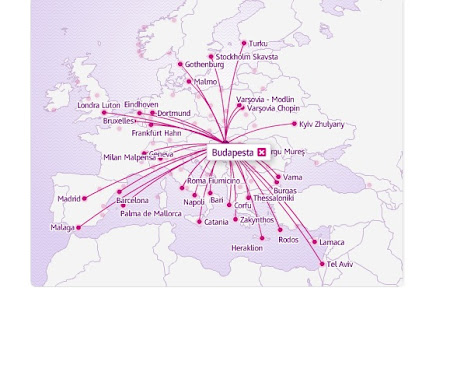 Zboruri Wizz Air din Budapesta
