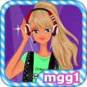 DJ Girl Dress Up icon