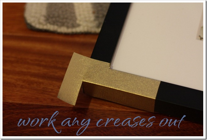 Diy Brass Frames Hb Knock Off A Thoughtful Place