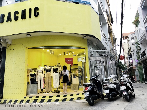 Cần Sang gấp Shop hàng hiệu cao cấp đường Lê Văn Sỹ Quận 3-001