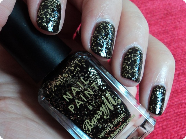 Barry M Jewel Glitter Nail Paints Gold Mine NP355