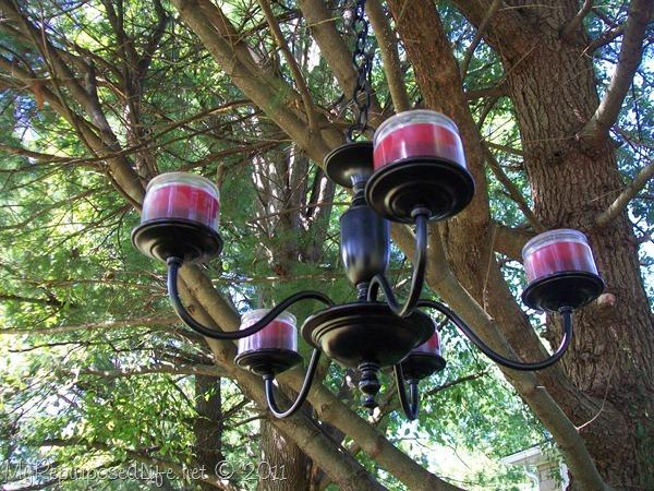 repurposed chandelier
