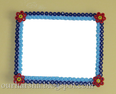My Hobbies::: Perler Beads Photo Frame