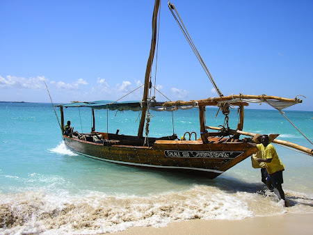 Excursii Zanzibar: la parcat de barca
