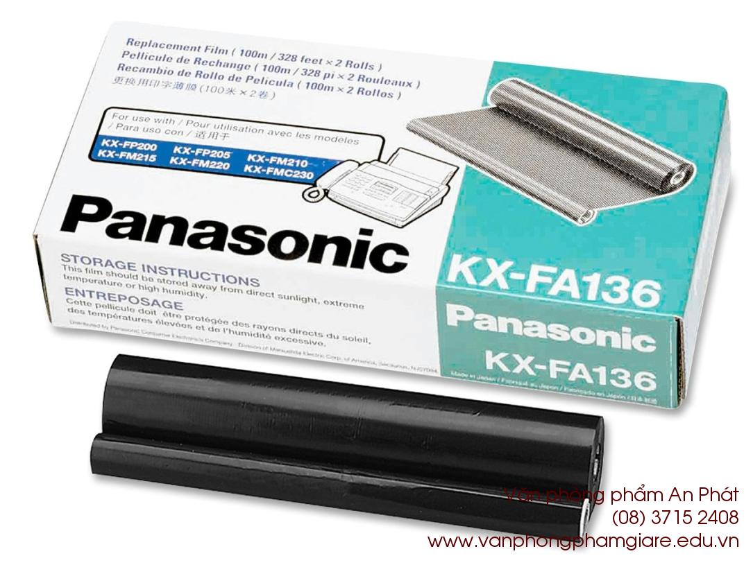 film fax panasonic kx fa 136