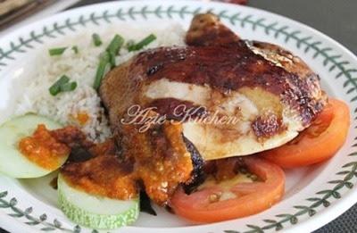 resepi nasi ayam nani rostam