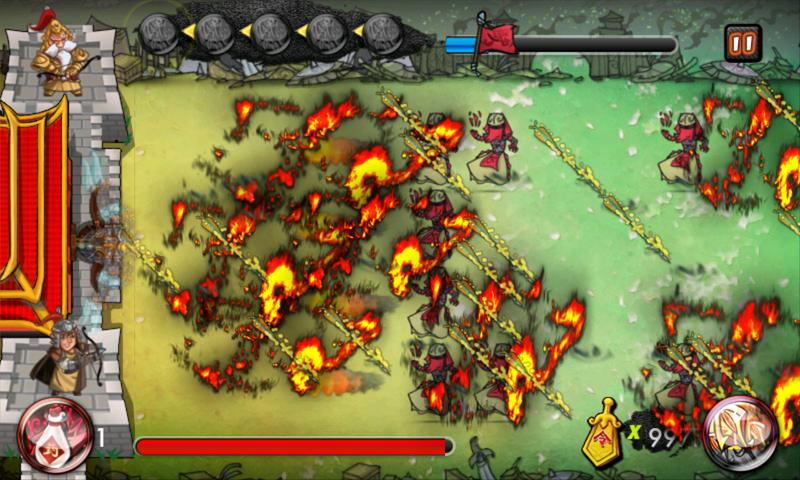 3 Kingdoms TD:Arrow Defense- screenshot