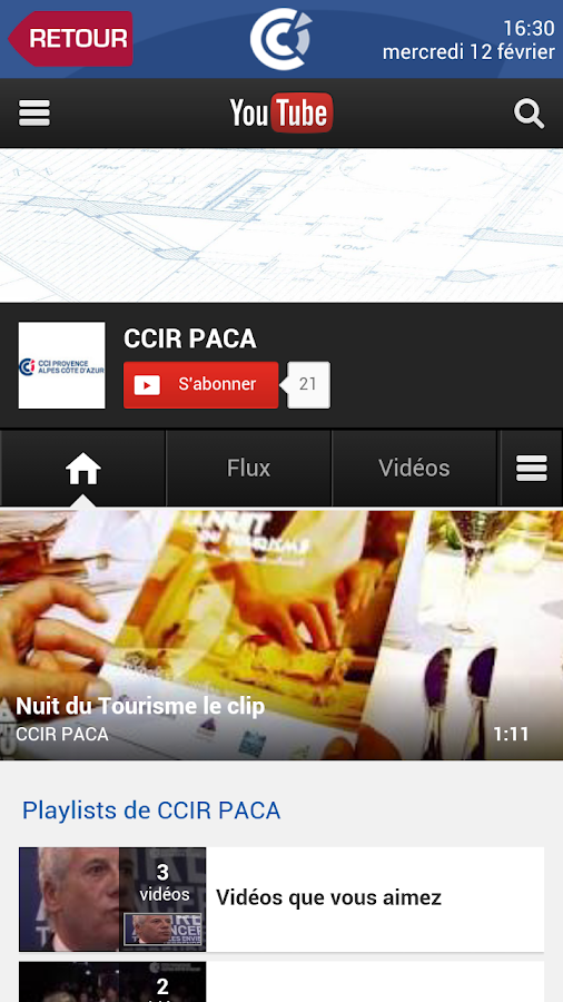 CCIR PACA - screenshot