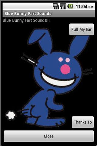 Blue Bunny Fart Sounds - screenshot