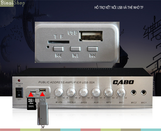 Cabo USB-50A