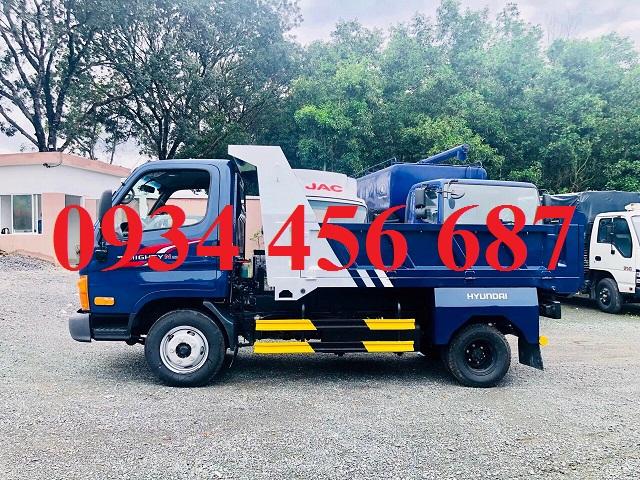 Bán xe ben 2.5 tấn Hyundai N250