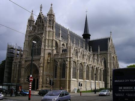 Obiective turistice Bruxelles: Notre Dame de Sablon