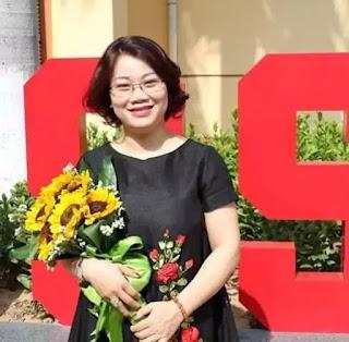Phó Giáo sư- tiến sĩ Trần Thu Hương – Giảng viên khoa Tâm lý học, đại học quốc gia Hà Nội, người chính thức lên tiếng bênh vực và bào chữa cho kẻ biến thái Đinh Bằng My.